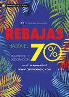 Ofertas de Camino A Casa, Rebajas hasta el 70%