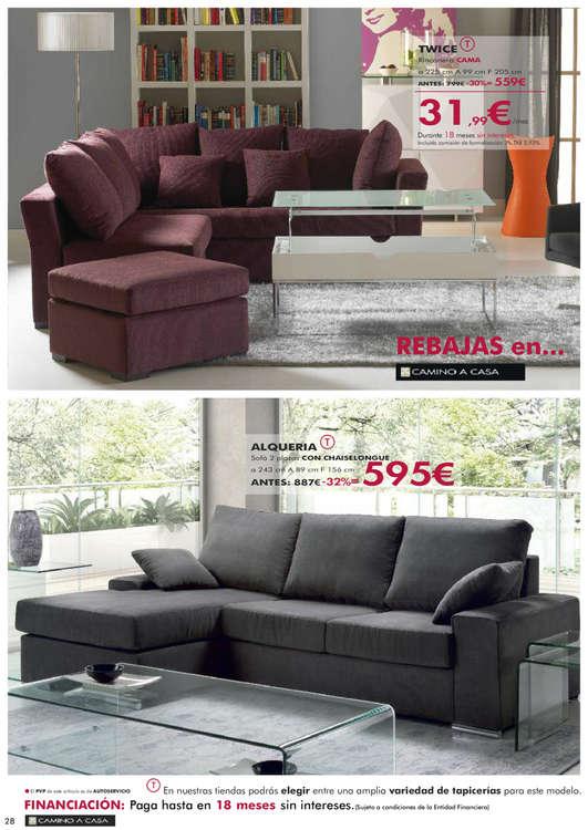 Comprar sof cama ofertas y tiendas ofertia for Muebles camino a casa catalogo