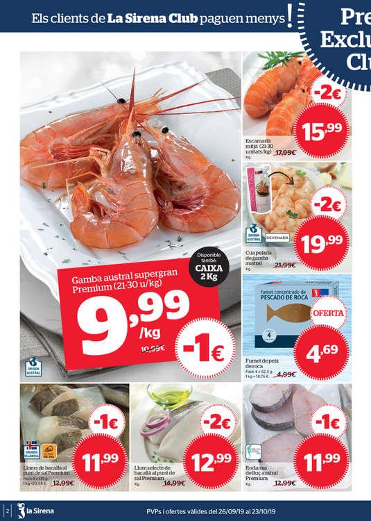 Ofertas de La Sirena, Et portem el salmó de Noruega preferit pels noruecs