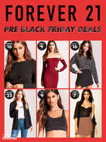 Ofertas de Forever 21, Pre Black Friday Deals