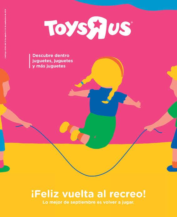 """Ofertas de Toys """"R"""" Us, ¡Feliz vuelta al recreo!"""