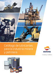 Catálogo de lubricantes para la industria minera y petrolera