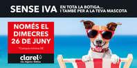 Sense IVA, en tota la botiga i també per a la teva mascota