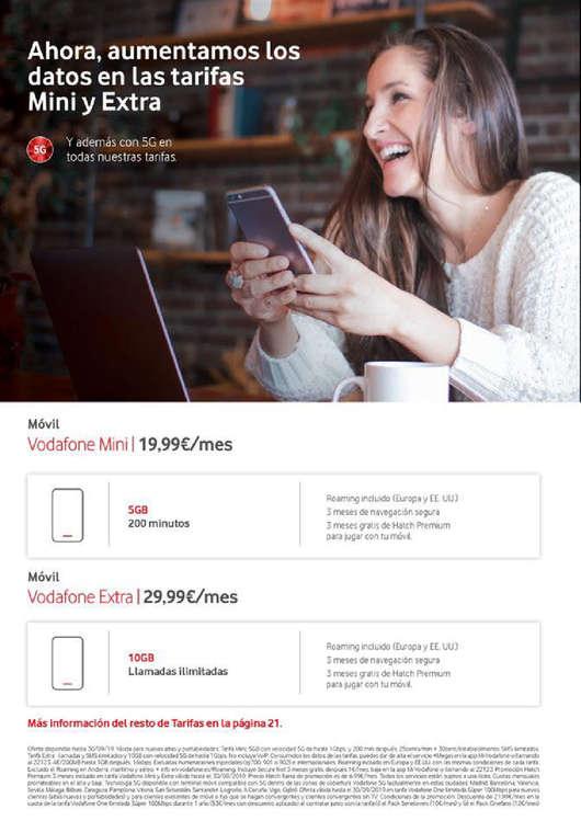Ofertas de Vodafone, Hazte Ilimitable