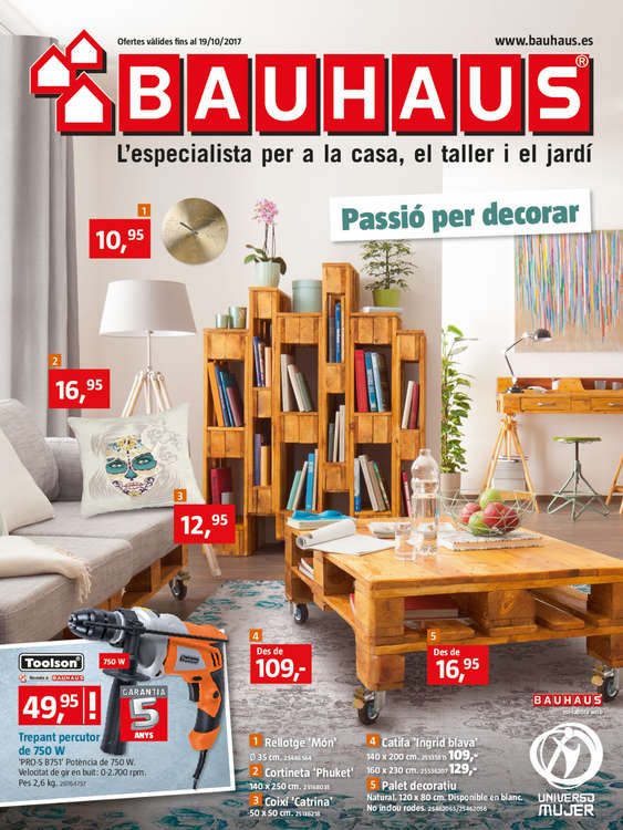 bauhaus girona ofertas cat logo y folletos ofertia