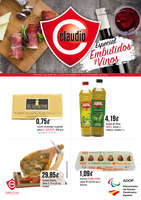 Ofertas de Claudio, Especial Embutidos y Vinos