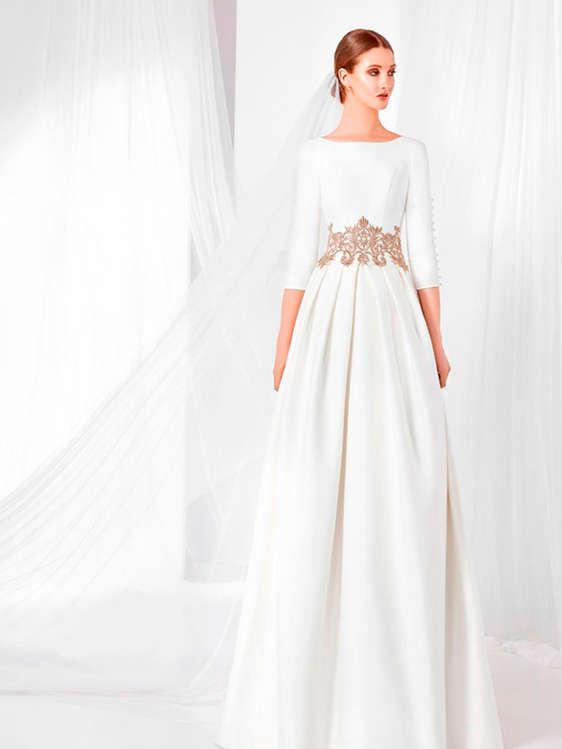 comprar vestidos de novia con cola barato en el prat de llobregat