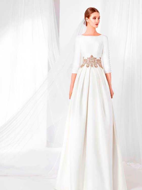 comprar vestidos de novia con cola barato en huércal de almería