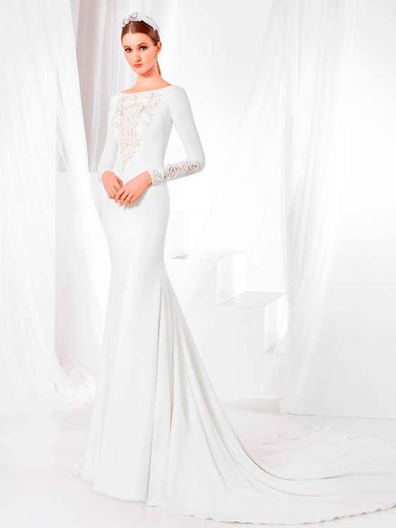 comprar vestidos de novia con cola barato en badalona - ofertia