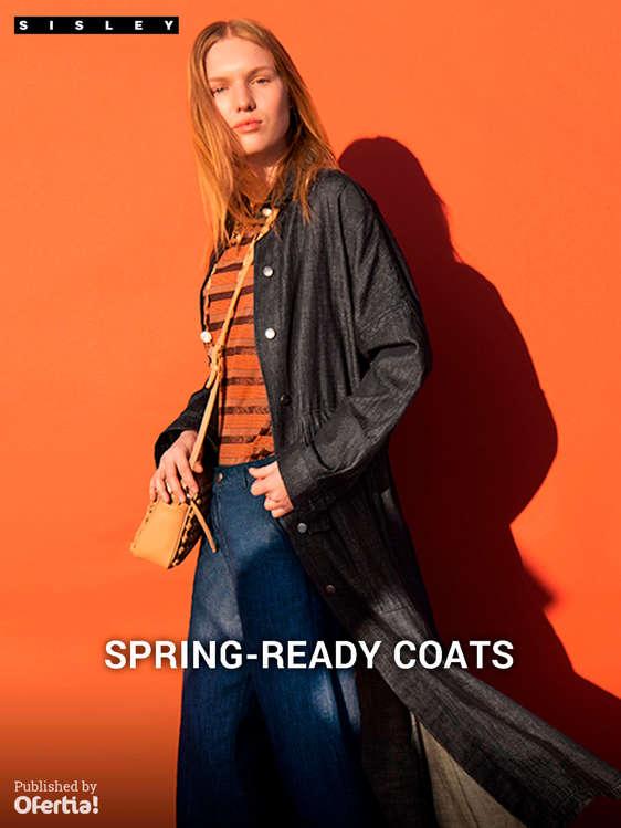 Ofertas de Sisley, Spring-Ready Coats