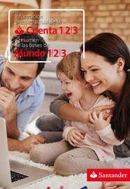 Información precontractual de la Cuenta 123