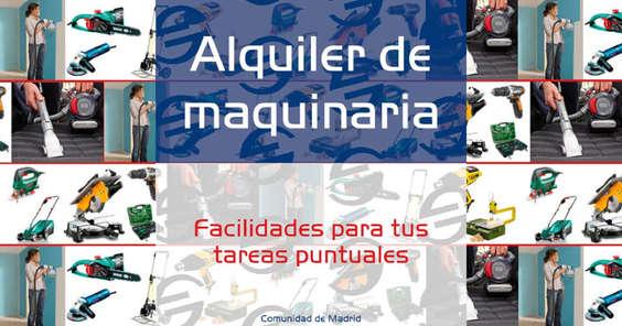 Ofertas de Bricolaje Soriano, Alquiler