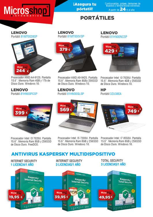 Ofertas de Microsshop, Ofertas Noviembre