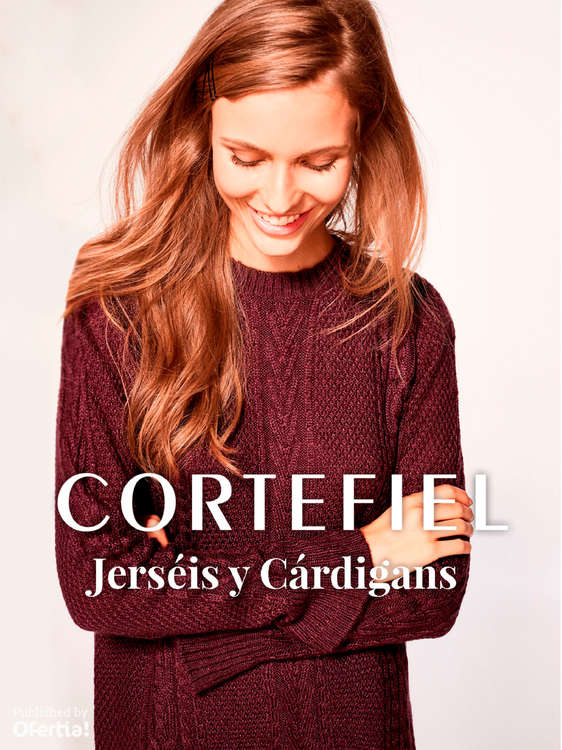 Ofertas de Cortefiel, Jerséis y Cárdigans