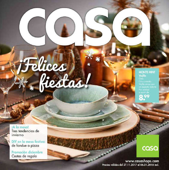 Casa ofertas cat logo y folletos ofertia for Casa tiendas de decoracion catalogo