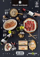 Ofertas de BM Supermercados, Feliz Navidad