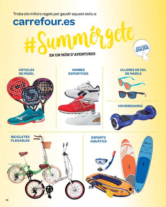Ofertas de Carrefour, #Summérgete