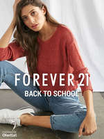 Ofertas de Forever 21, Back to school