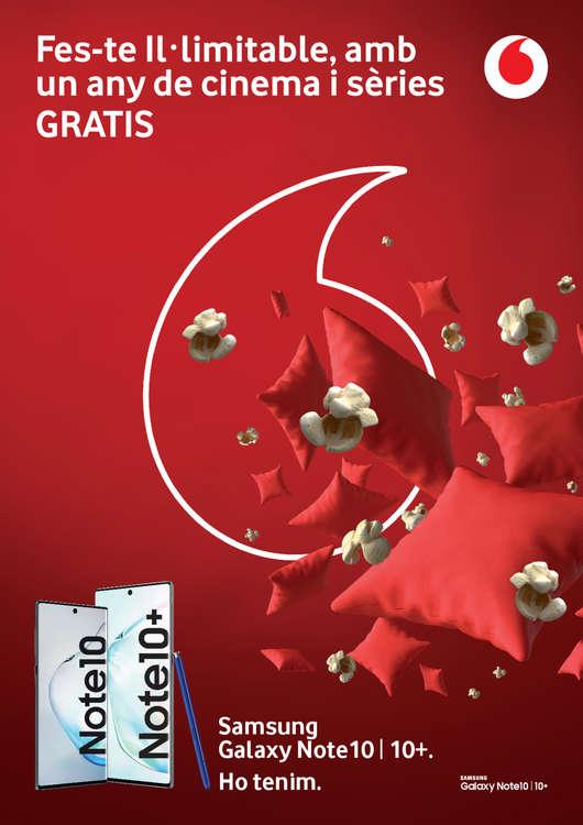 Ofertas de Vodafone, Fes-te Il.limitable