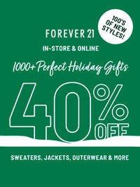 Holidays Gifts 40% off