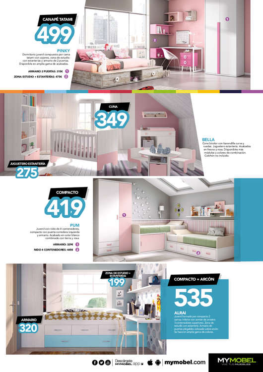 Comprar Muebles y complementos bebé barato en Majadahonda - Ofertia