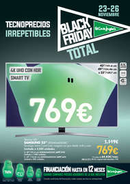Black Friday. Tecnoprecios irrepetibles