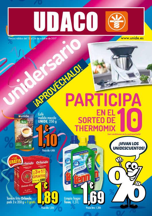 Ofertas de Supermercados Udaco, Unidersario