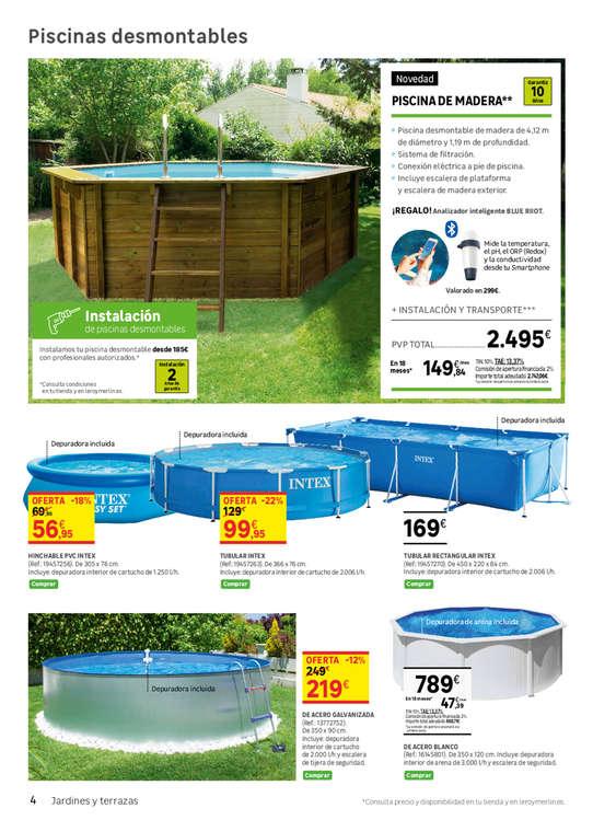 Comprar piscina hinchable ofertas y tiendas ofertia for Aki piscinas hinchables