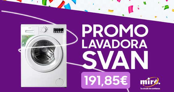 Ofertas de Miró, Promo lavadora SVAN
