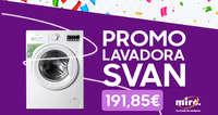 Promo lavadora SVAN