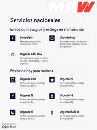 Servicios Nacionales