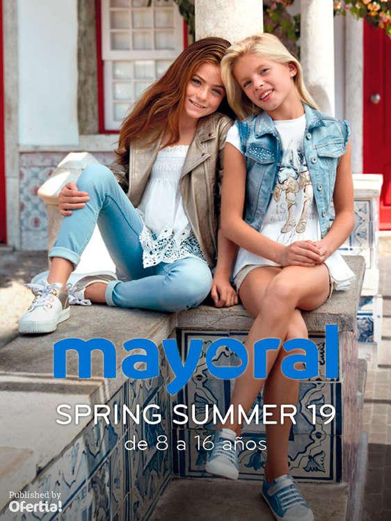 Ofertas de Mayoral, Spring Summer 19. De 8 a 16 años
