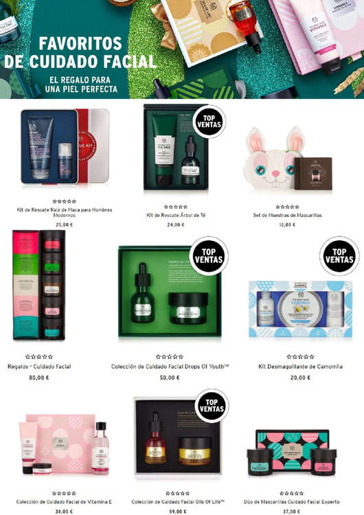 Ofertas de The Body Shop, El regalo para una piel perfecta