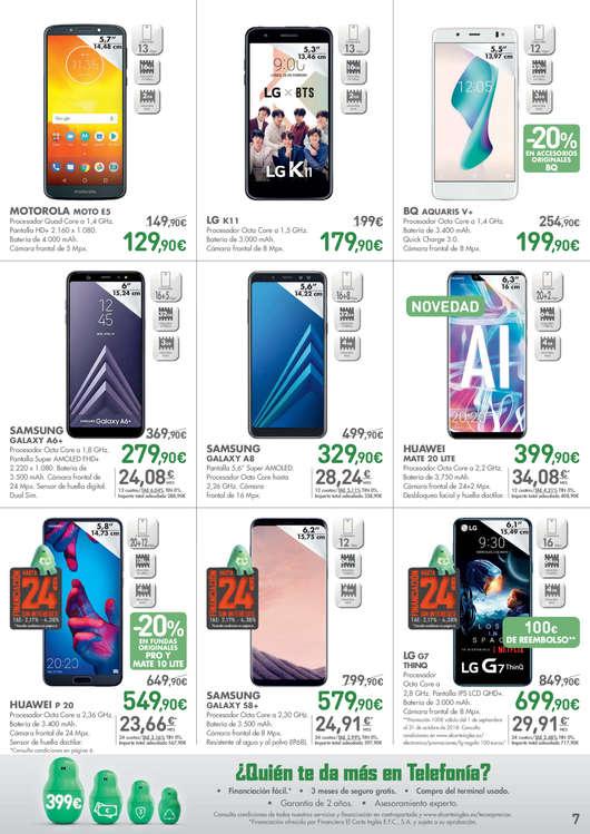 Comprar lg smartphone barato en alaqu s ofertia for El corte ingles libros
