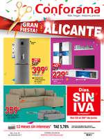 Ofertas de Conforama, ¡Gran Fiesta! Alicante
