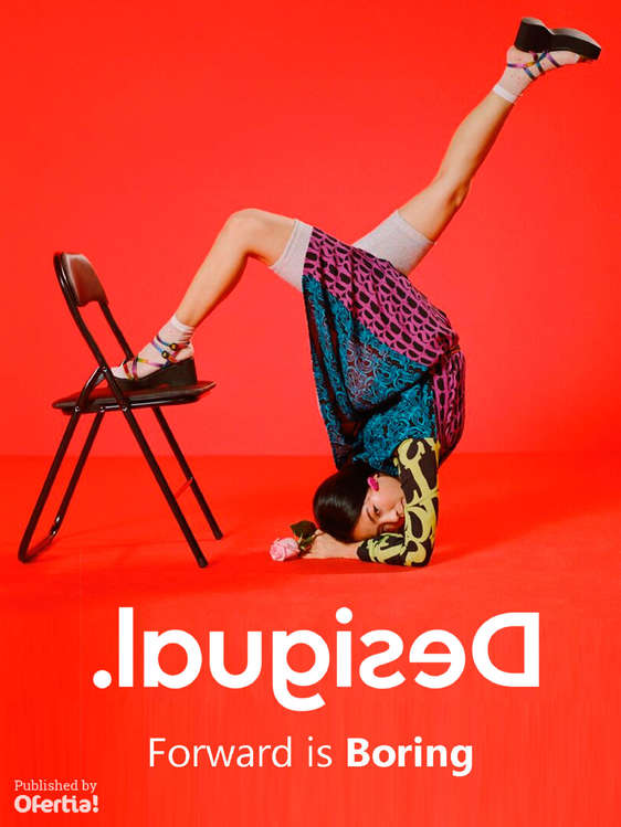 Ofertas de Desigual, Forward is boring