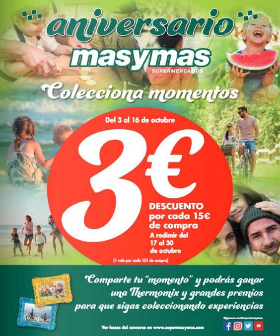 Ofertas de Masymas, Aniversario Más y Más