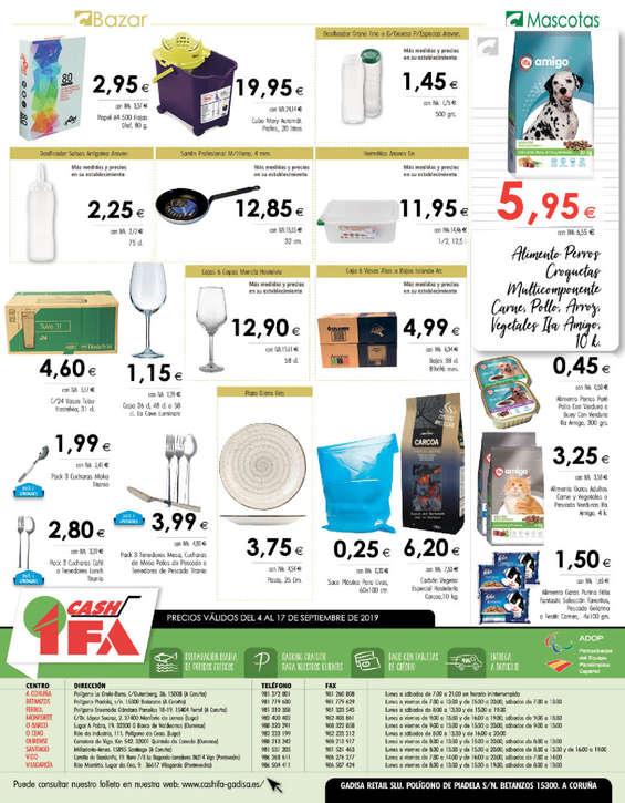 Ofertas de Cash Ifa, Especial comedores