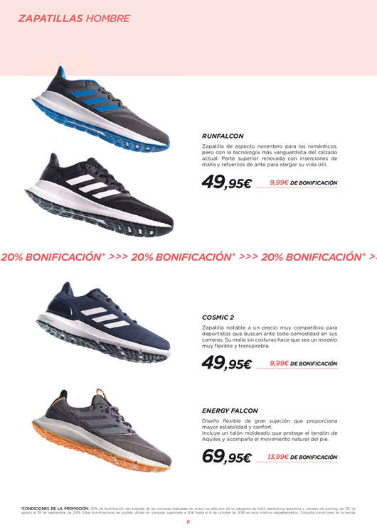 Ofertas de El Corte Inglés, Running
