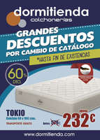 Ofertas de Dormitienda, folleto