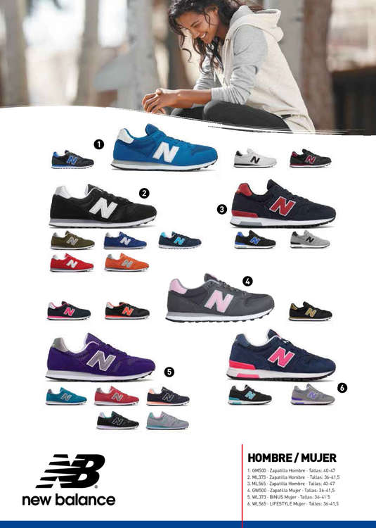 zapatillas new balance intersport
