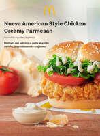 Ofertas de McDonald's, Nueva American Style Chicken Creamy Parmesan