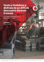 Ofertas de Vodafone, Vente a Vodafone y disfruta de un 20% de descuento durante 6 meses