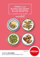 Ofertas de Supermercados Charter, Torna a la rutina millorant en les receptes