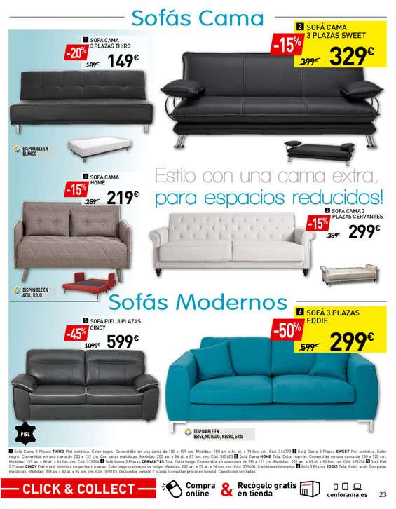 Comprar sof cama barato en legan s ofertia - Cama coche conforama ...
