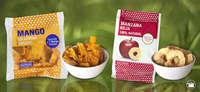 Snacks de fruta deshidratada