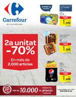 Ofertas de Carrefour, 2a unitat -70% en més de 2.000 articles