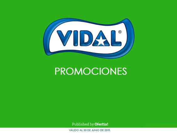 Ofertas de Vidal, Dulces Vidal