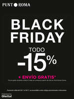 Ofertas de Punt Roma, Black Friday. Todo -15%