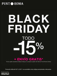 Black Friday. Todo -15%